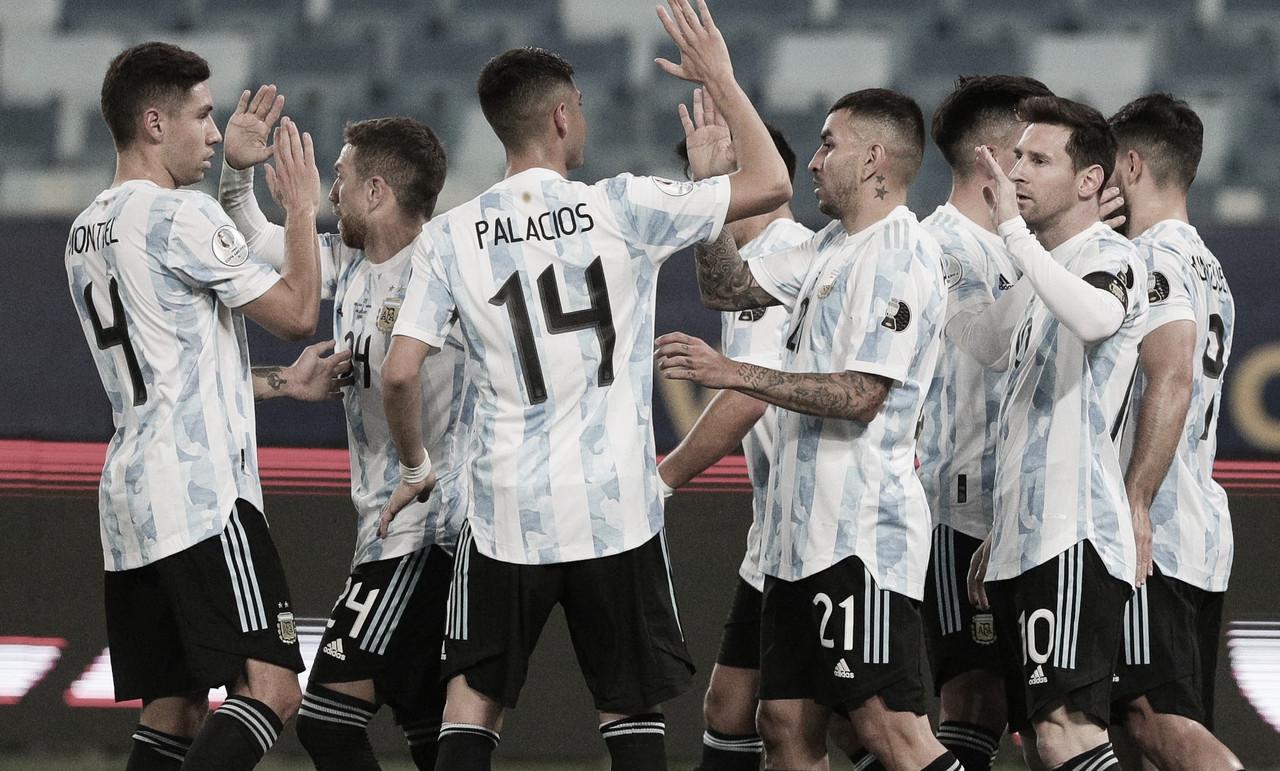 Argentina defende invencibilidade na Copa América diante de sucumbido Equador