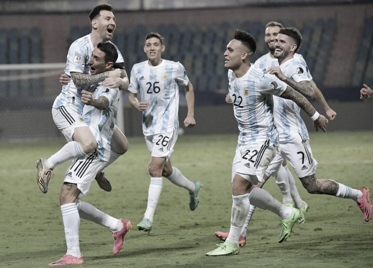 Un espectáculo de Messi certifica el pase de Argentina