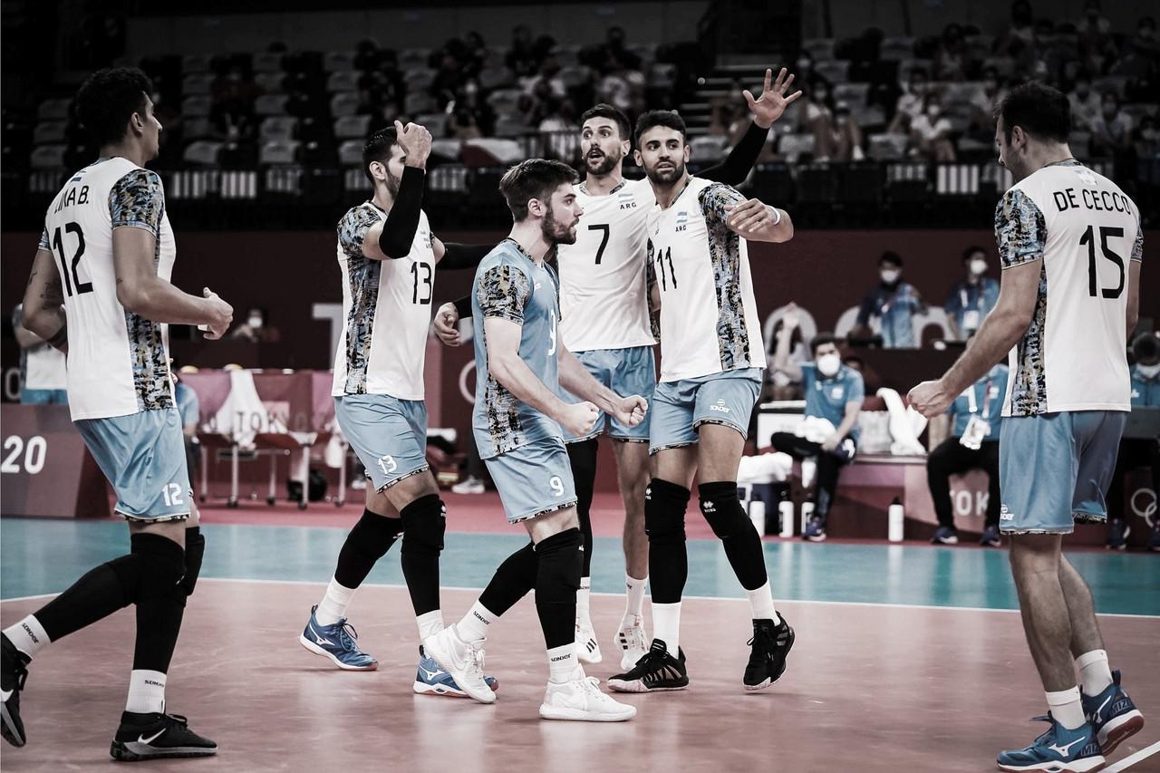 Argentina hace historia en el Voley