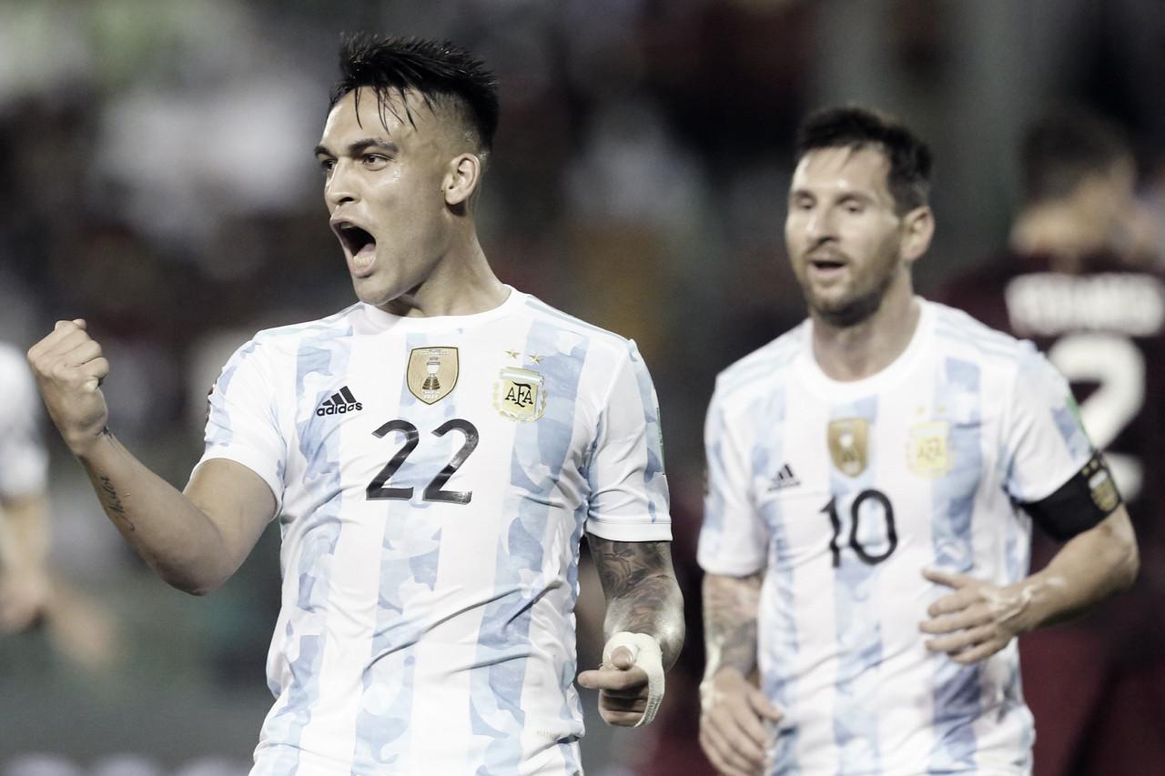Argentina se lleva una merecida victoria de Caracas