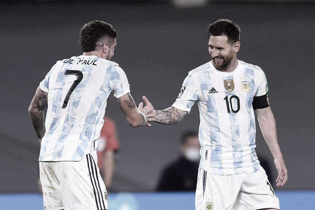 Argentina golea para quedarse con el Derbi Rioplatense