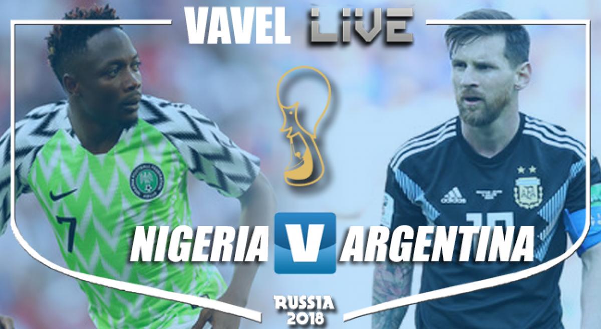 Resultado Nigeria 1-2 Argentina en el Mundial Rusia 2018