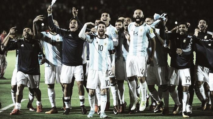 De la mano de Messi al Mundial