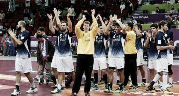Resultado Argentina - Alemania Mundial de Handball 2015 (23-28)