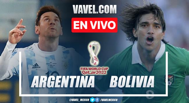 Goles y resumen del Argentina 3-0 Bolivia en Eliminatorias rumbo a Qatar 2022