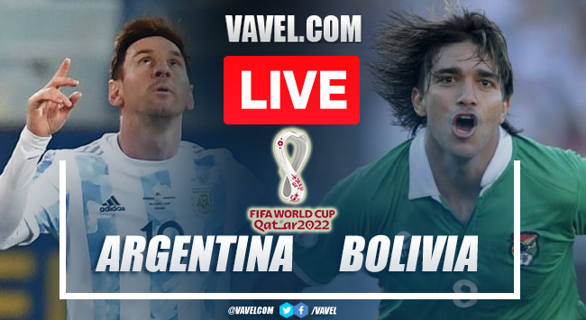 Goals and Highlights: Argentina 3-0 Bolivia in Qualifying round for Qatar 2022