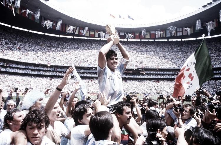 México 1986: conquistó territorio azteca y se adueñó del mundo por segunda vez