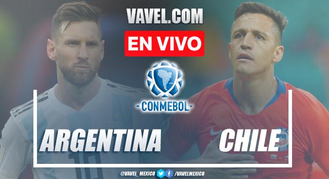 Goles y resumen del Argentina 1-1 Chile en Eliminatorias CONMEBOL 2021