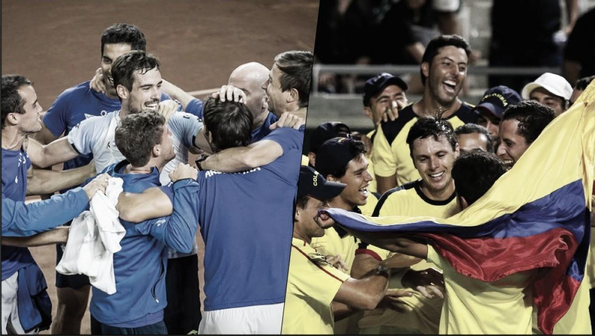 Argentina enfrentará a Colombia por un lugar en el Grupo Mundial
