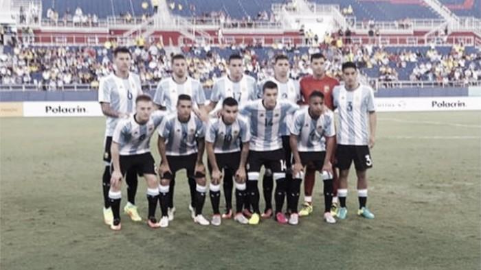 Con una gran actuación de José Luis Gómez, Argentina empató con Colombia