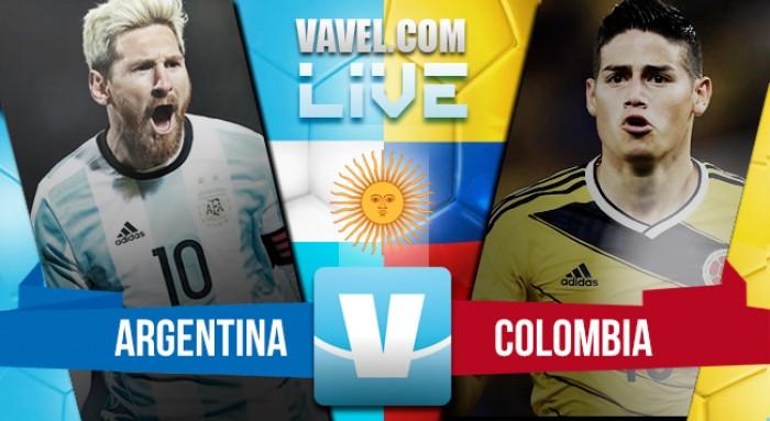 Argentina vs Colombia en vivo y en directo online por las Eliminatorias (0-0)