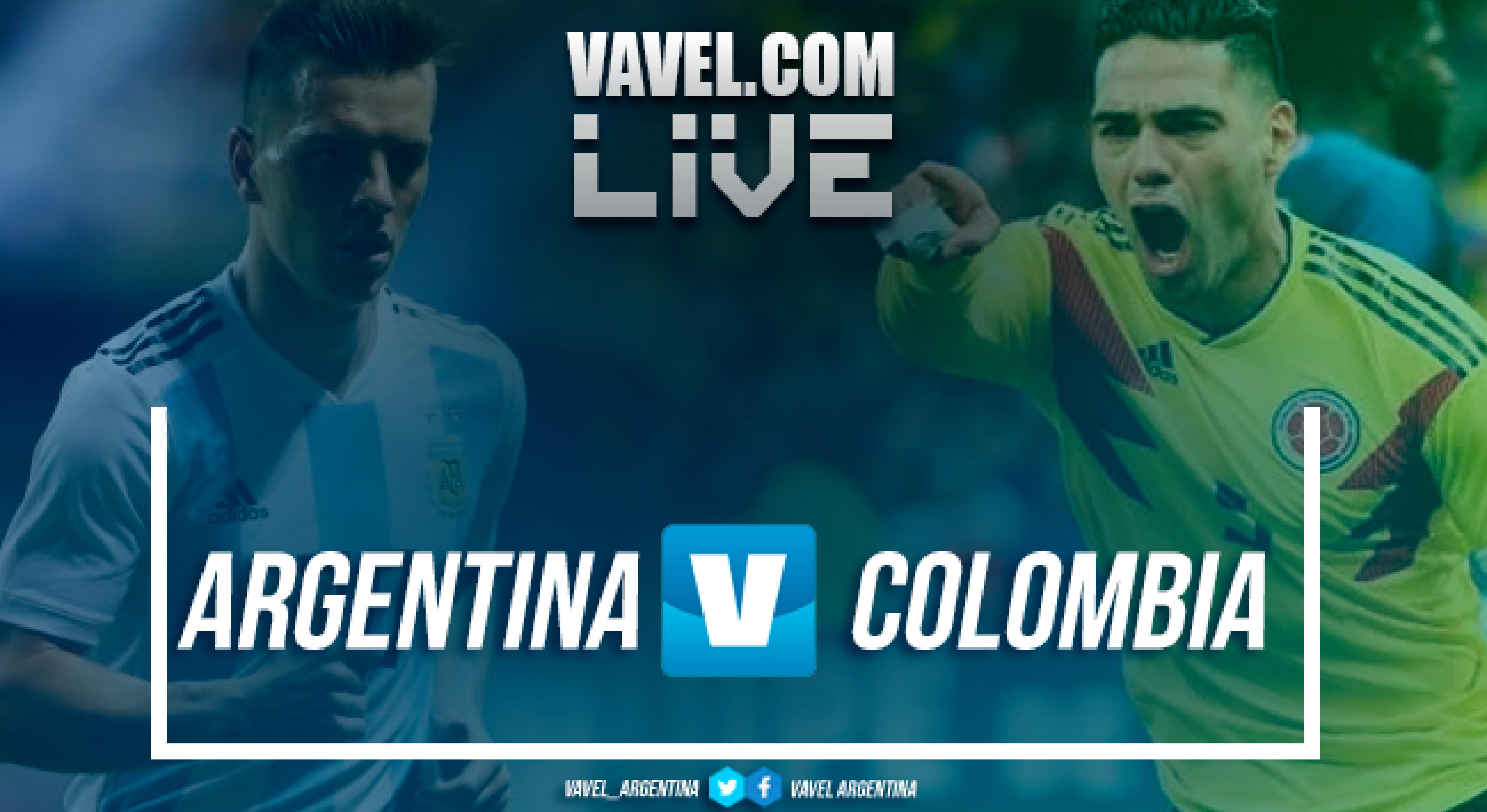 Resumen Argentina 0-0 Colombia en Amistoso Internacional 2018