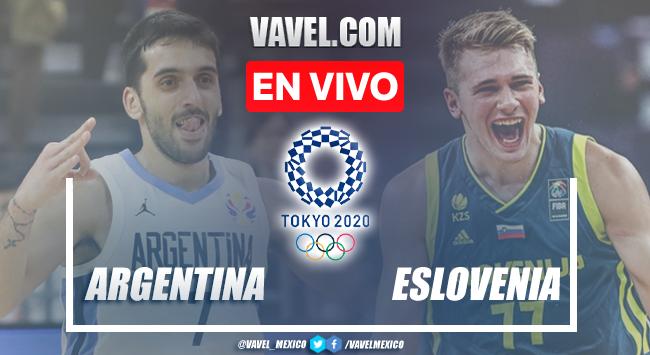 Resumen y mejores momentos de Argentina 100-118 Eslovenia en Tokio 2020