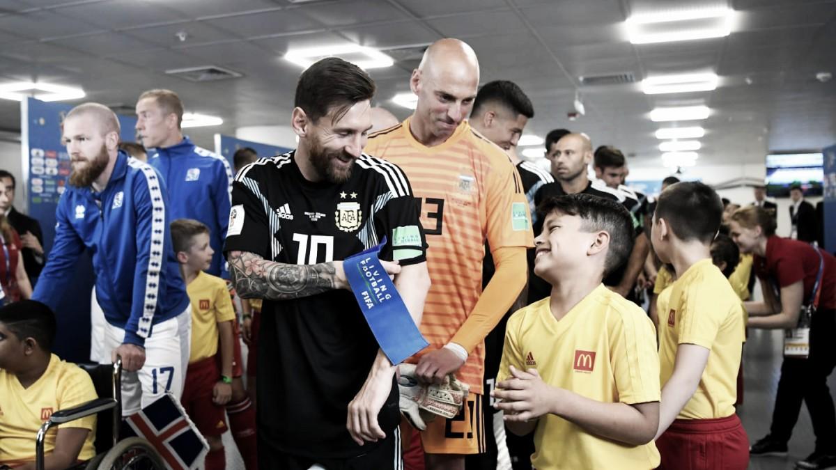 Horario y dónde ver por TV el Argentina - Croacia en Mundial Rusia 2018