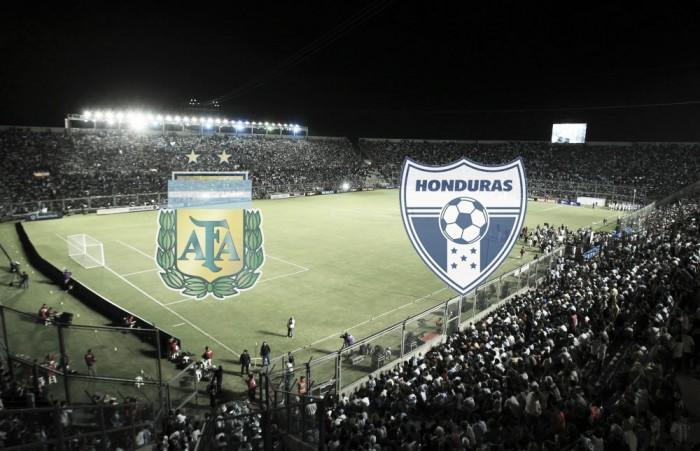 Argentina vence a Honduras por 1-0 con gol de Gonzalo Higuain