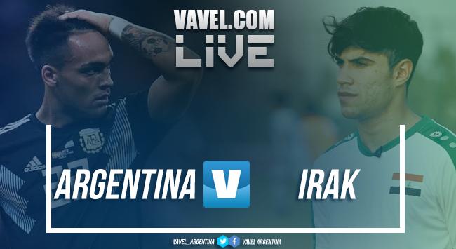 Resumen Argentina 4-0 Irak en amistoso internacional 2018