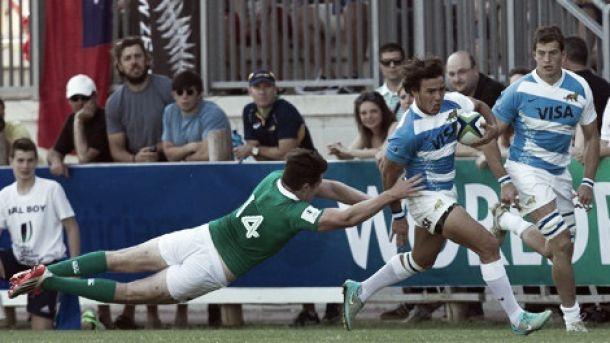 World Rugby Junior Championship Italia 2015: Los Pumitas debutaron con una ajustada derrota ante Irlanda