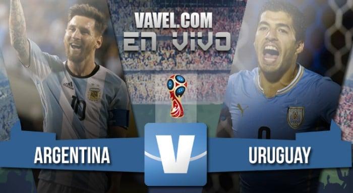 Resultado de Argentina vs Uruguay 2016 (1-0)