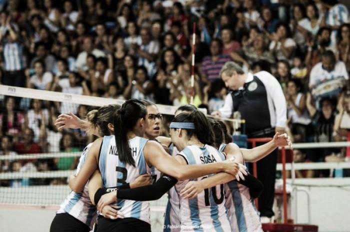 Rumo à Olimpíada: seleção feminina de Vôlei da Argentina