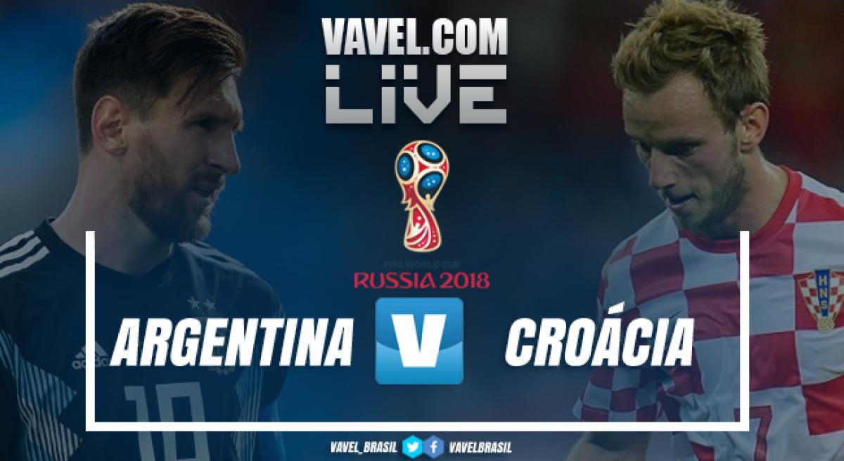 Croácia vence a Argentina na Copa do Mundo 2018 (0-3)