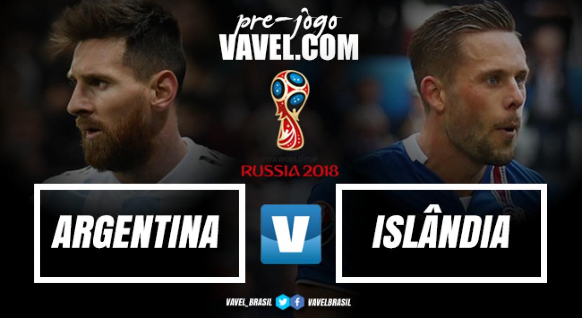 Sob desconfiança, Argentina inicia caminhada na Copa contra surpreendente Islândia
