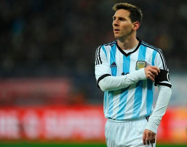 Resultado Selección Argentina - Trinidad y Tobago por Fecha FIFA 2014 (3-0)