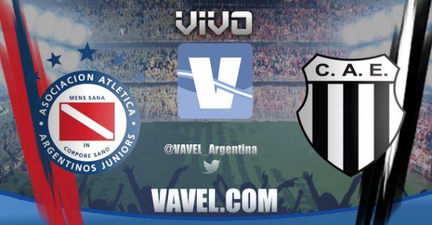 Resultado Argentinos Juniors - Estudiantes de Caseros por Copa Argentina (1-1)
