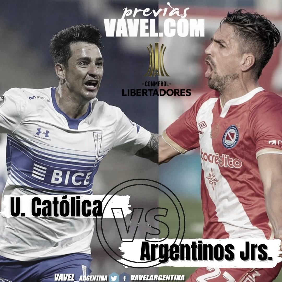 Argentinos visita a la U. Católica en busca de su segunda victoria al hilo en Libertadores