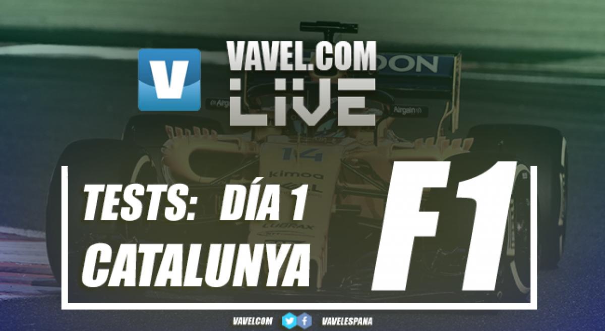 Test pretemporada 2018 de Fórmula 1 en vivo y en directo online