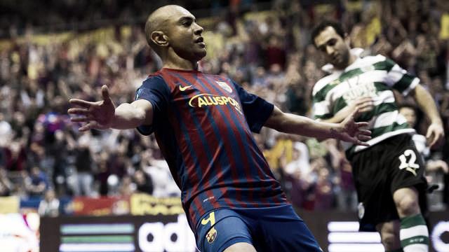 El Barça Alusport aplasta al Sporting Club y se mete en la final de la UEFA Futsal Cup