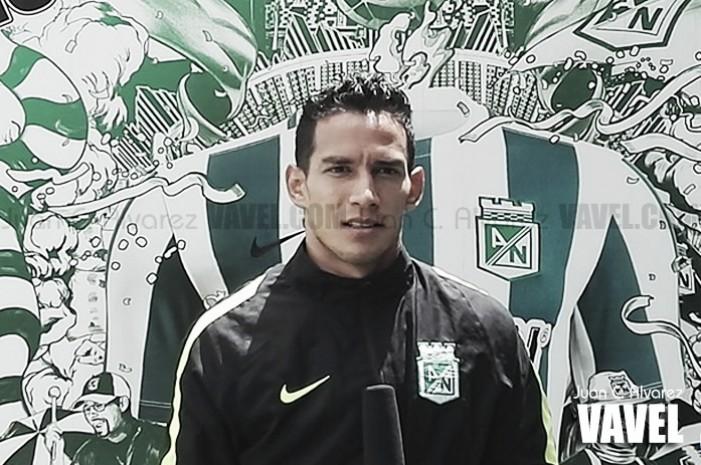 """Diego Arias: """"Santa Fe es un equipo muy intenso"""""""