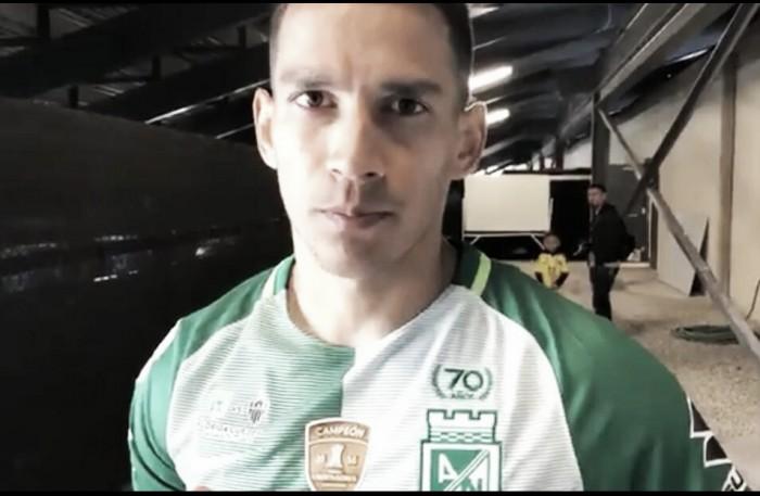 """Diego Arias: """"Es claro lo que el técnico quiere de cada uno de nosotros en nuestra posición"""""""