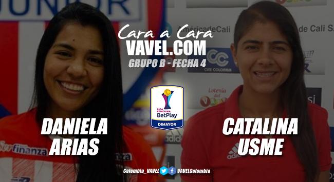 Cara a cara: Daniela Arias vs Catalina Usme