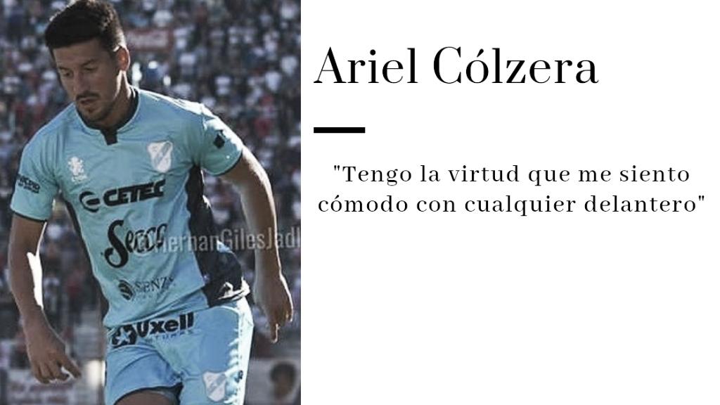 """Ariel Cólzera: """"Si no corres hoy, no jugás"""""""