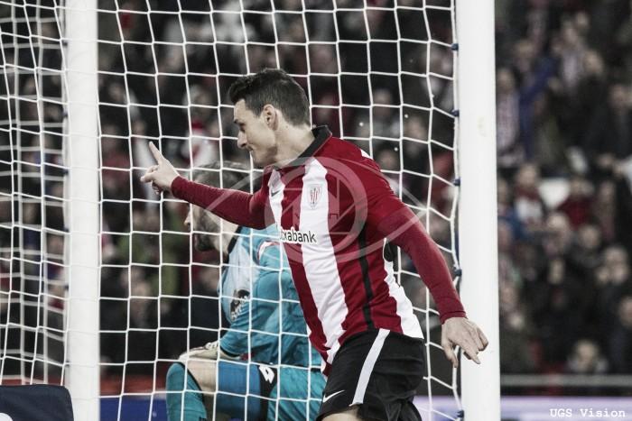 El gol 3.000 del Athletic como local llevó el sello de Aduriz