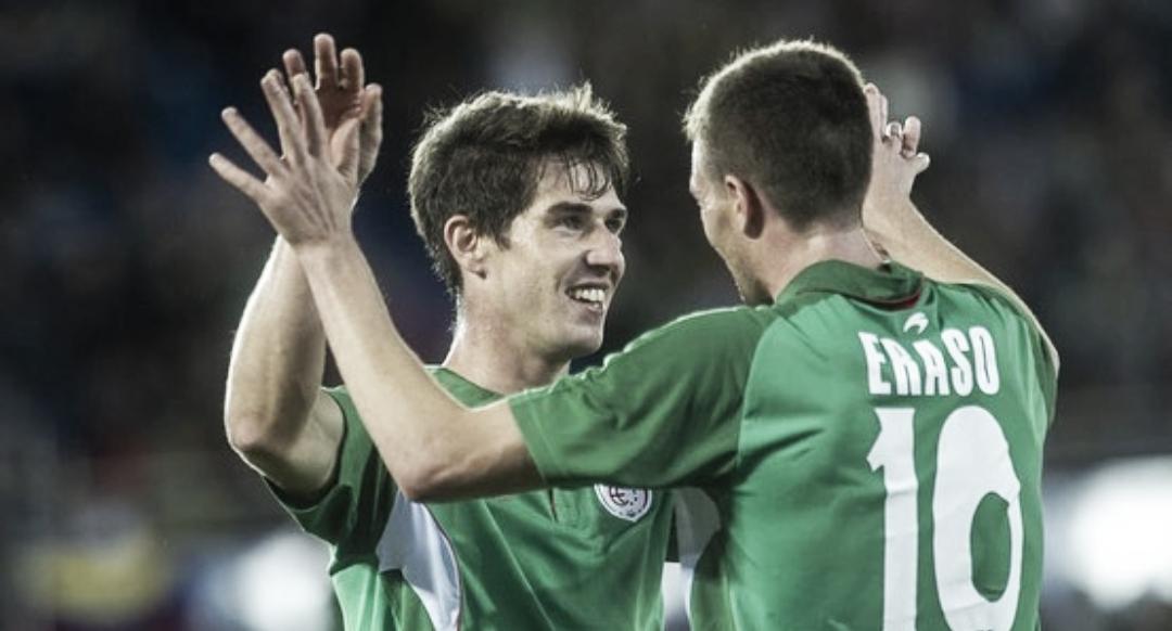 Aritz y Bautista brillan con la Euskal Selekzioa