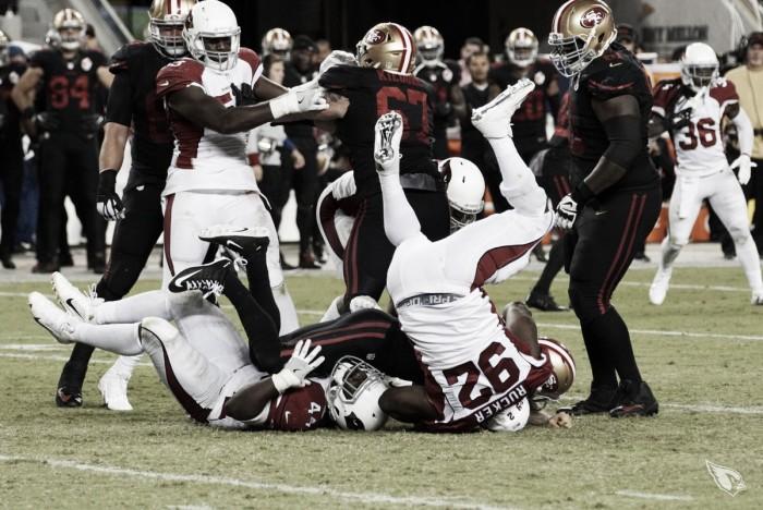 49ers sofre com turnovers e Arizona Cardinals vence em São Francisco