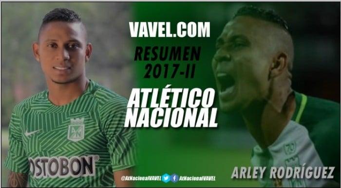 Atlético Nacional Resumen 2017-II: Arley Rodríguez, un semestre insulso