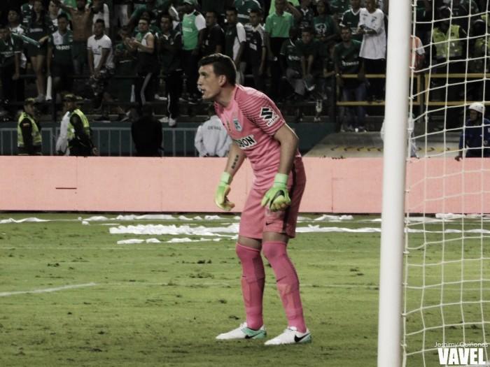 """Franco Armani: """"Estamos en el equipo más grande de Colombia y esto amerita ganar títulos"""""""