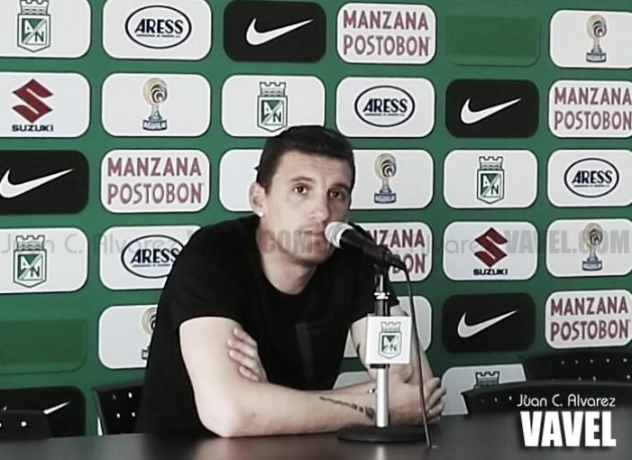 """Franco Armani: """"Mi cabeza está puesta en Atlético Nacional"""""""