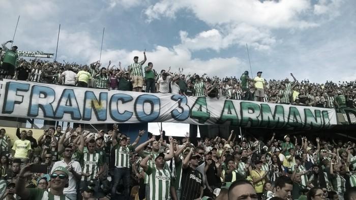 Un trapo lleno de 'pasión verde' para Franco Armani
