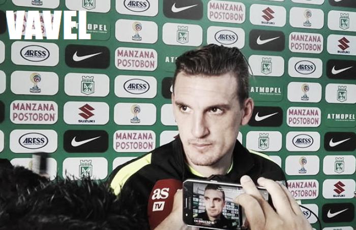 """Franco Armani: """"uno siempre aspira a ser llamado a la Selección"""""""