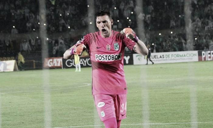 Franco Armani no practicó esta mañana y es duda ante Botafogo