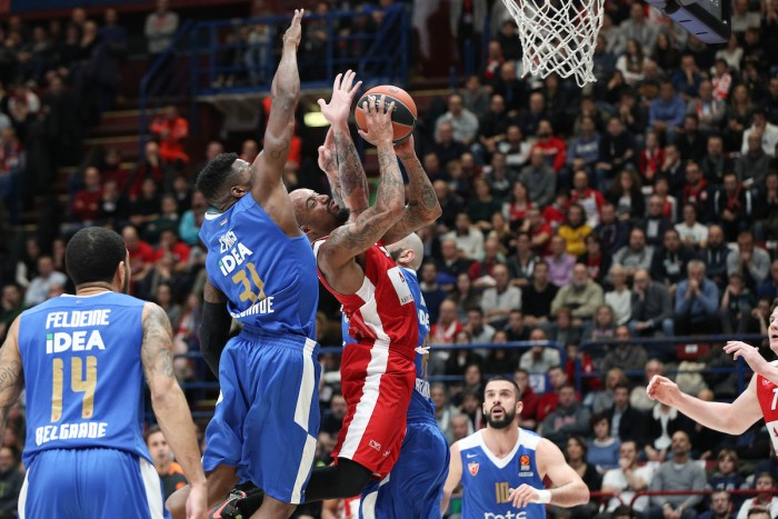 Turkish Airlines EuroLeague - Milano ci prova ma cade sul campo della Stella Rossa (100-89)