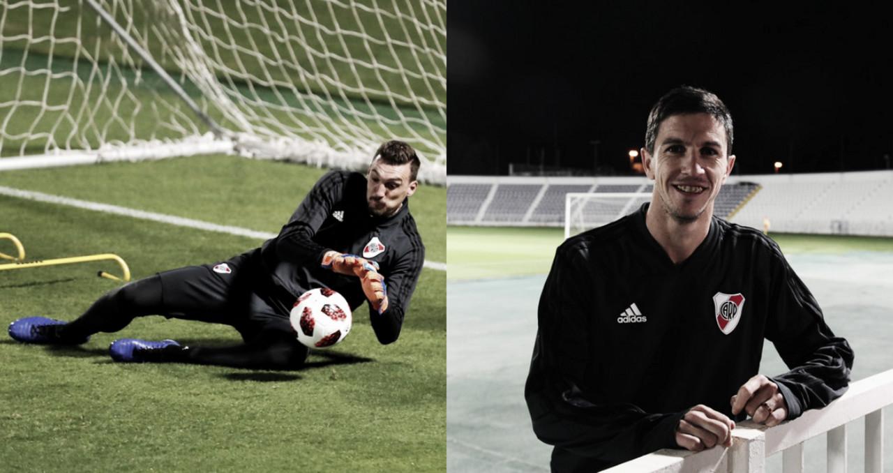 Armani y Nacho Fernández, expectantes por el Mundial de Clubes