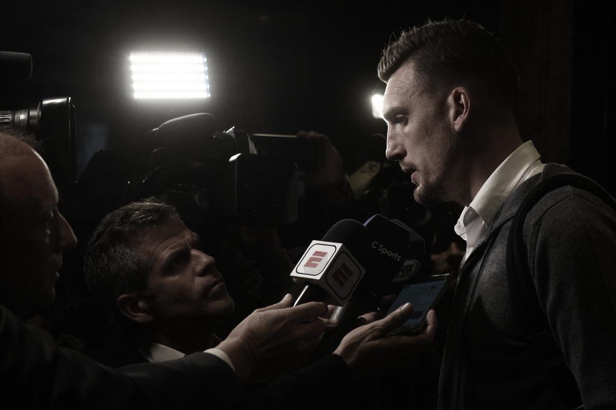 Armani: ''Queremos aprovechar la chance de jugar una nueva final''