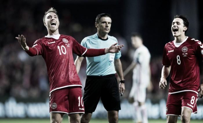 Qualificazioni Russia 2018 - Danimarca, vittoria capitale in Armenia. Ok l'Azerbaigian
