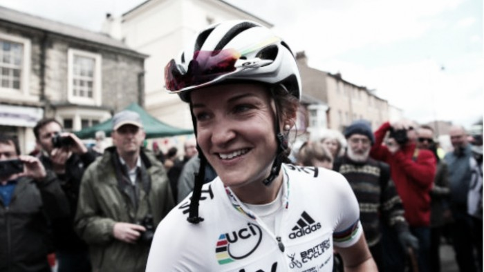 World Champion LizzieArmitstead said riding at Tour de Yorkshire was a 'goose-pimple' moment