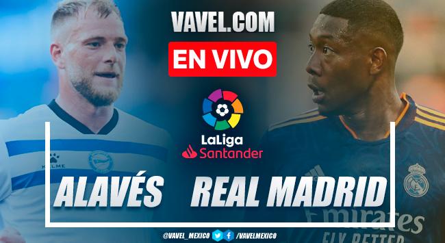 Resumen y goles: Deportivo Alavés 1-4 Real Madrid en LaLiga 2021