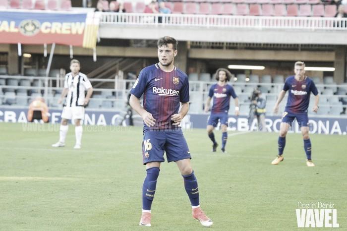 Arnaiz, el único que se salva del hundimiento del Barça B